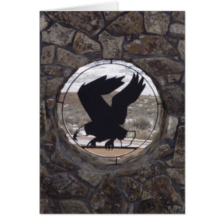 Eagles Eye Greeting Card