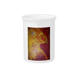 Eagles Fire Drink Pitcher