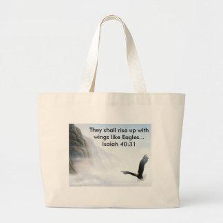 Eagles Flight Large Tote Bag