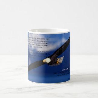 Eagles Fly High Landscape Realism Art Print Coffee Mug