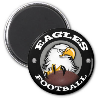EAGLES FOOTBALL Claw 2 Inch Round Magnet