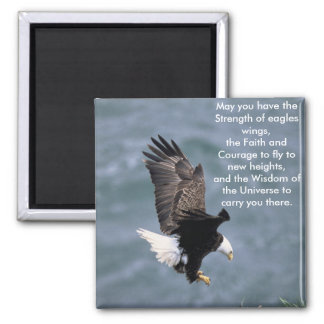 Eagles fuerte imán cuadrado
