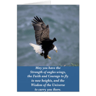 Eagles fuerte tarjeta pequeña