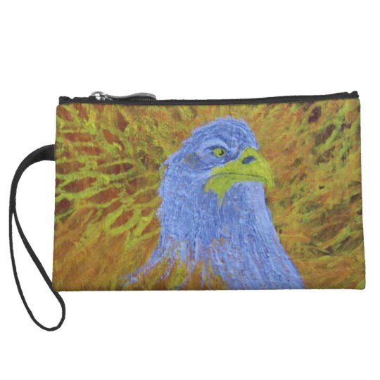 Eagles Fury Wristlet Wallet