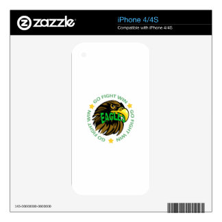 EAGLES GO FIGHT WIN DECAL FOR iPhone 4S