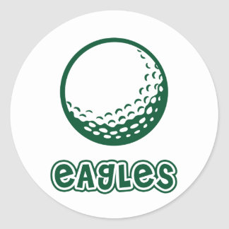 Eagles Golf Classic Round Sticker