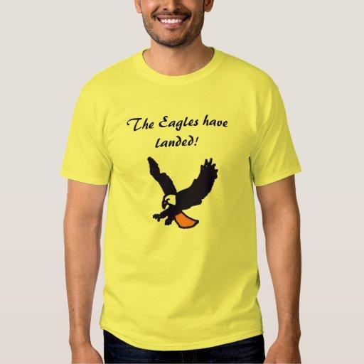 ¡Eagles ha aterrizado! camisa