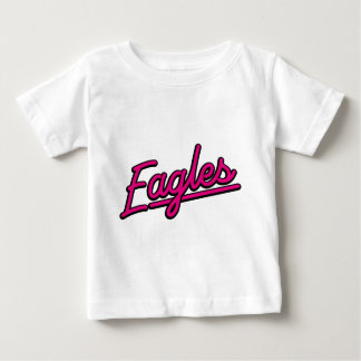 Eagles in magenta baby T-Shirt