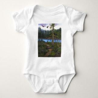 Eagles In Paradise Baby Bodysuit