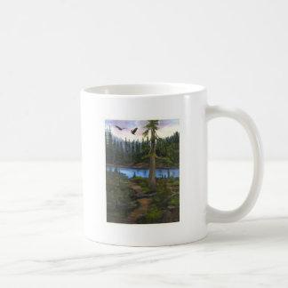 Eagles In Paradise Coffee Mug