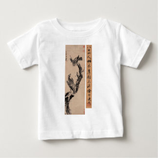 Eagles in Withered Tree by Bada Shanren Baby T-Shirt