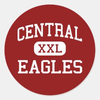 - Eagles - joven central - Pittsburg California Pegatina Redonda