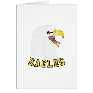 Eagles Mascot Card