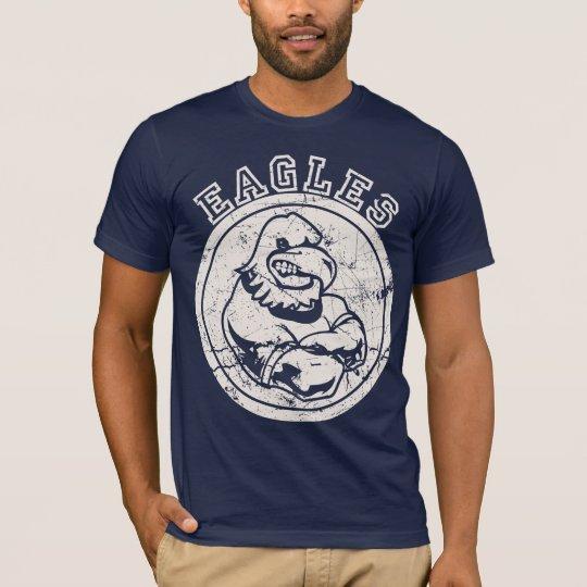 Eagles Mascot for Dark Apparel T-Shirt