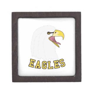 Eagles Mascot Jewelry Box