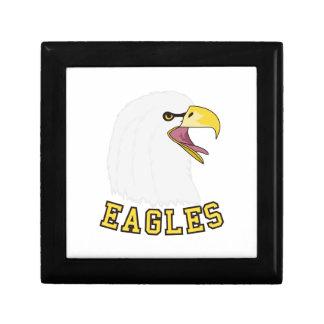 Eagles Mascot Keepsake Box