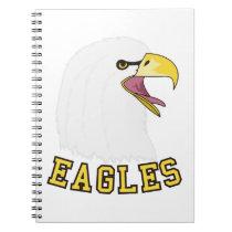 Eagles Mascot Notebook