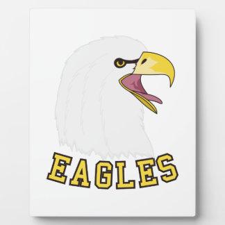 Eagles Mascot Plaque