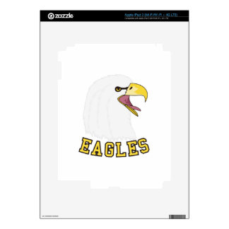 Eagles Mascot Skin For iPad 3