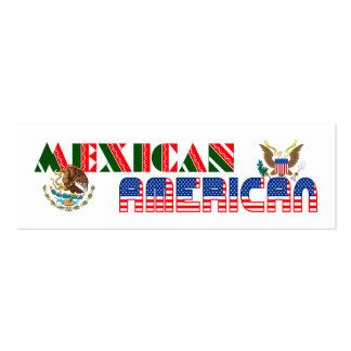 Eagles mexicano-americano tarjetas de visita mini