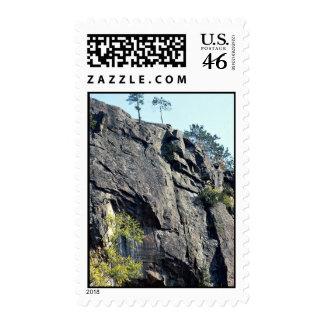 Eagle's nest, Bancroft, Ontario, Canada rock forma Postage