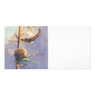 EAGLE'S NEST by SHARON SHARPE Card