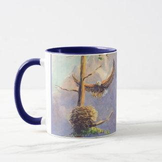 EAGLE'S NEST by SHARON SHARPE Mug