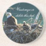 Eagles' Nest; Customizable Beverage Coasters