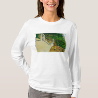 Eagle's Nest Observatory on Columbia River T-Shirt