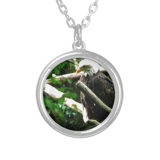 Eagles Nest Silver Plated Necklace