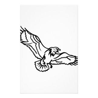 Eagles Outline Stationery