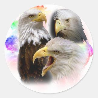 Eagles Pegatina Redonda