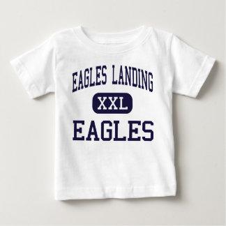 Eagles que aterriza - Eagles - el alto - McDonough Tee Shirts