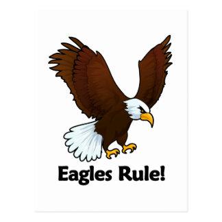Eagles Rule! Postcard