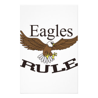 Eagles Rule Stationery