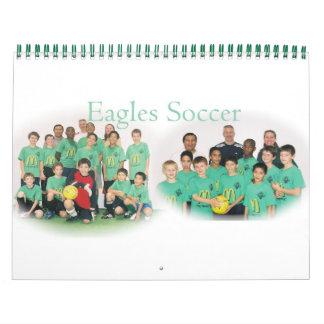 Eagles Soccer Wall Calendar