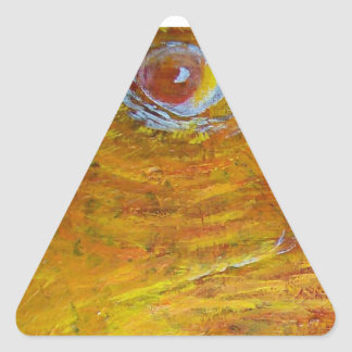 Eagles Triangle Sticker
