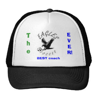 eagles The BEST coach EVER Mesh Hats