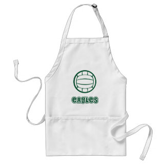 Eagles Volleyball Adult Apron