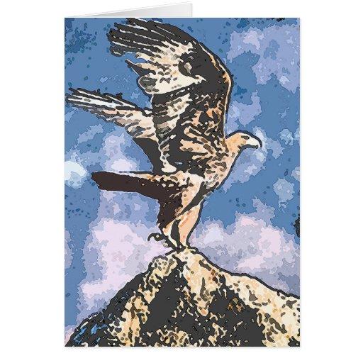 Eagles Wings - Isaiah 40:31 Greeting Card
