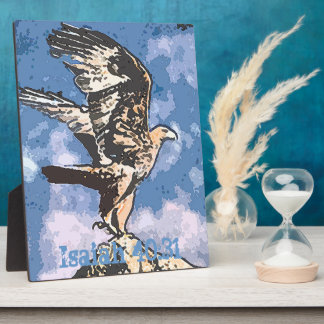 Eagles Wings - Isaiah 40:31 Plaque