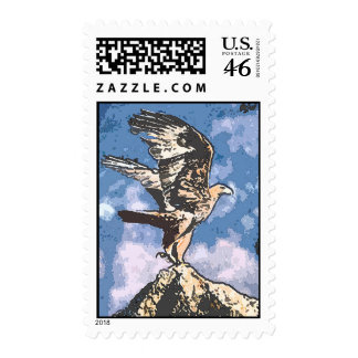 Eagles Wings - Isaiah 40:31 Postage Stamps