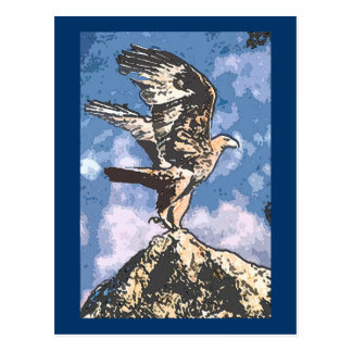 Eagles Wings - Isaiah 40:31 Postcard