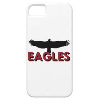 EAGLES WITH SILHOUETTE iPhone 5 COVERS