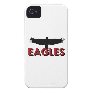 EAGLES WITH SILHOUETTE iPhone 4 COVER