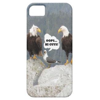 Eagles y caso del iPhone 5 de Barely There de las iPhone 5 Carcasa