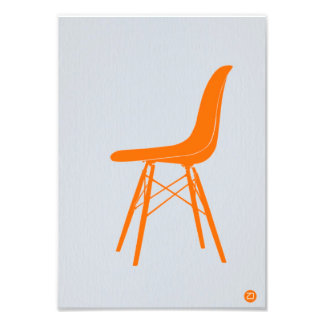 Eames Chair Photographic Print