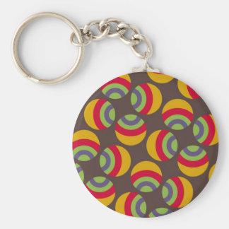 Eames Circles 2 Keychain