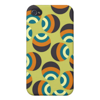 Eames Circles 6 Case For iPhone 4