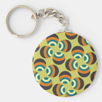 Eames Circles 6 Keychain